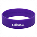 Ballaholic Logo Wide Rubberband パープル