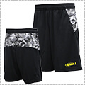 AND1 Camo BK Short 黒