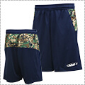 AND1 Camo BK Short 紺