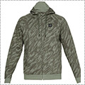 UNDER ARMOUR Rival Fleece Camo Fz Hoody モスグリーン/黒