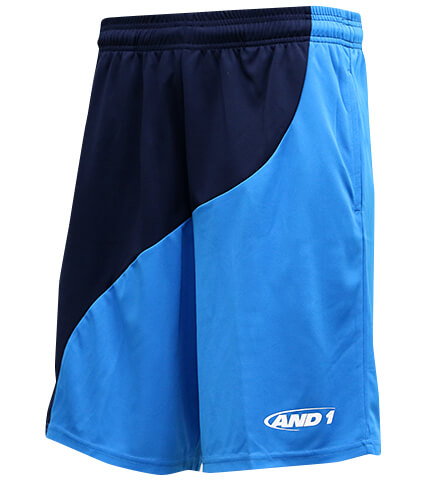 AND1 Tai Chi Short Dブルー