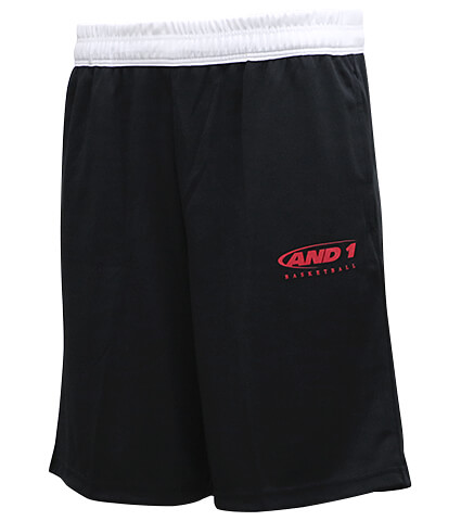 AND1 HK Logo Short 黒/白