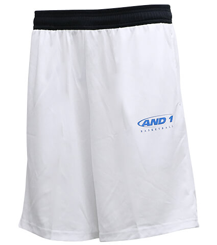 AND1 HK Logo Short 白/黒