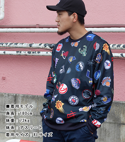 UNK 30 Something Crewneck 黒