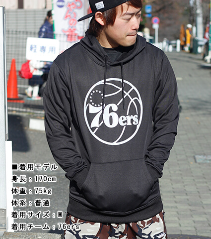 UNK Poly Pullover Rfl Hoodie セブンティシクサーズ