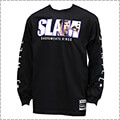 Mitchell&Ness SLAM Cover L/S J.Williarms 黒/ジェイソン・ウィリアムス