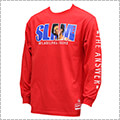 Mitchell&Ness SLAM Cover L/S A.Iverson 赤/アレン・アイバーソン