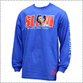 Mitchell&Ness SLAM Cover L/S A.Iverson 青/アレン・アイバーソン