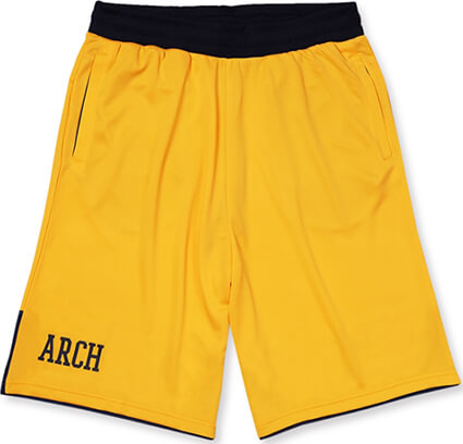 Arch BI-Color Shorts 黄/紺