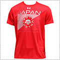 UNDER ARMOUR UA JAPAN BK Tee Square logo 赤