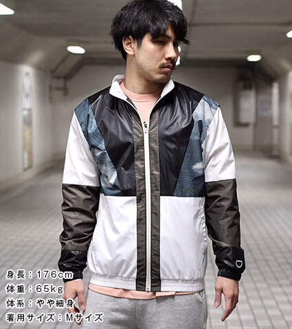 AKTR Ripple Flow Jacket 黒