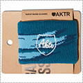 "AKTR Wristband Classic ""brush"" ブラシブルー"