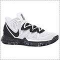 "NIKE Kyrie 5 EP ""WHITE/BLACK"" 白/黒"