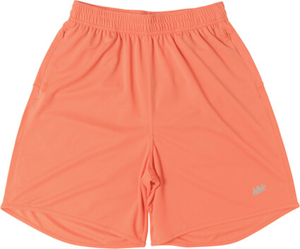 Ballaholic Basic Zip Shorts 2019 サーモンピンク/グレー