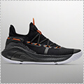 "UNDER ARMOUR Curry 6 ""Oakland Sideshow"" 黒/ピッチグレー"
