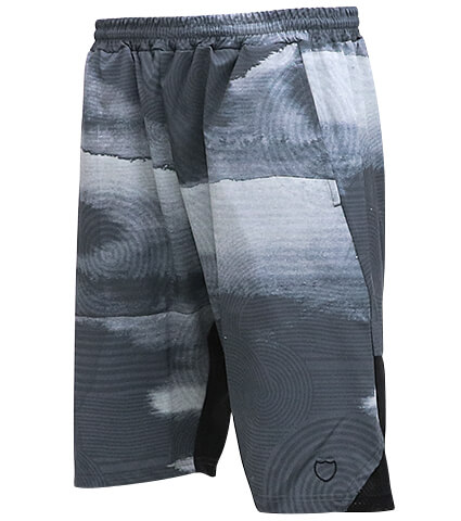 AKTR Ripple Flow Shorts 黒
