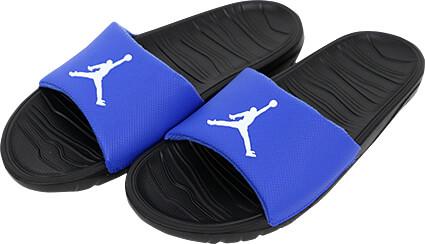 b0dd1e368f5a JORDAN Break Slide 青 白 バスケットボールショップ SLAM
