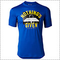 UNDER ARMOUR UA Tech Nothings Given Tee ロイヤル