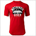 UNDER ARMOUR UA Tech Nothings Given Tee 赤