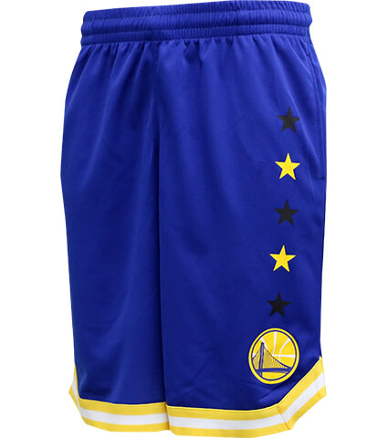 NBA Star Power Color Shorts ウォリアーズ