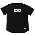 AKTR Bleeding Camo Box Logo Tee 黒