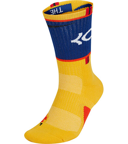 NIKE Elite KD Socks 黄/青