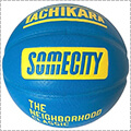TACHIKARA SOMECITY Official Game Ball 青/黄