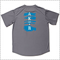AKTR Brush Basketball Sports Tee グレー