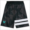 Arch Sporty Logo Shorts 黒