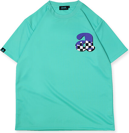 Arch Team Arch Checker Tee ミント