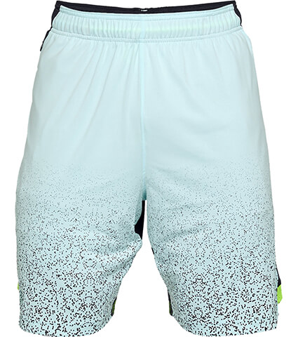 UNDER ARMOUR UA SC30 Ultra Perf 9in Short フューズティール/黒/黒