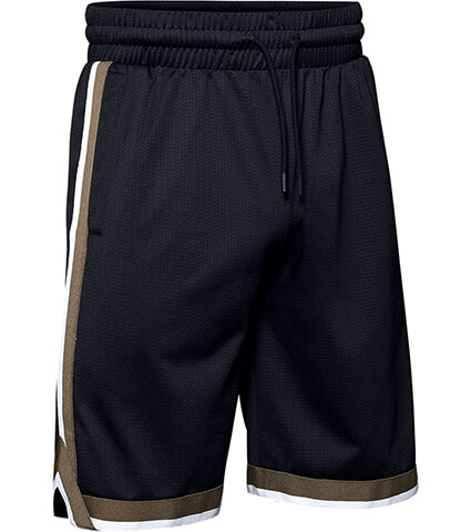 UNDER ARMOUR UA Sportstyle Mesh Short 黒/シルトブラウン