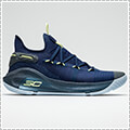 "UNDER ARMOUR UA Curry 6""International Blue Bird"" アカデミー/サンダー/フェード"