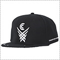 CROSSOVER CULTURE X Over Snapback 黒/白