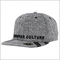 CROSSOVER CULTURE Hoirzon Snapback マルチカラーグレー/黒