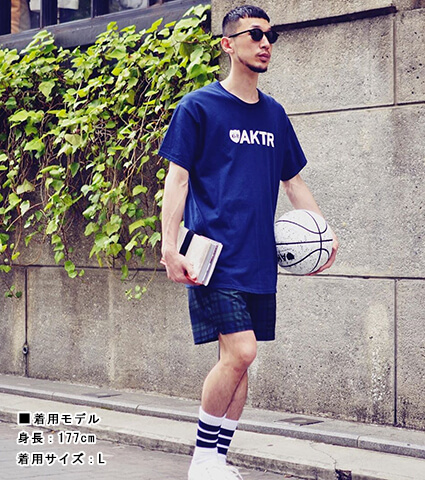 AKTR 68&BROTHERS Black Watch Shorts 緑