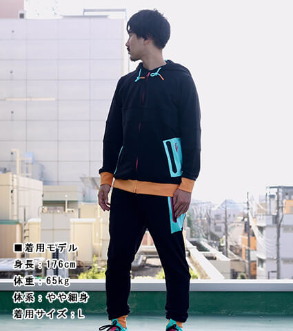 CROSSOVER CULTURE Ambush Jogger クイックストライク/黒