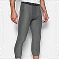 UNDER ARMOUR HG Armour 2.0 3/4 Legging カーボンヘザー/黒