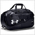 UNDER ARMOUR UA Undeniable Duffel 4.0 MD 黒/黒/シルバー
