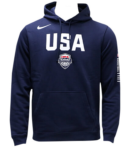 NIKE USA Bball Pullover Hoodie 紺
