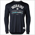 UNDER ARMOUR UA SC30 Tech Stack Logo L/S 黒