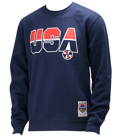 Mitchell&Ness 92 USA Dream Crew Team USA 紺