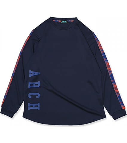 Arch Triangle Native L/S Tee 紺