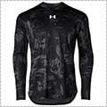 UNDER ARMOUR UA Baseline Printed L/S 黒