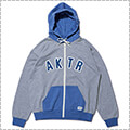 AKTR Sweat Zip Parka グレー