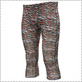 AKTR Scratch Camo Training Tights オリーブ/赤