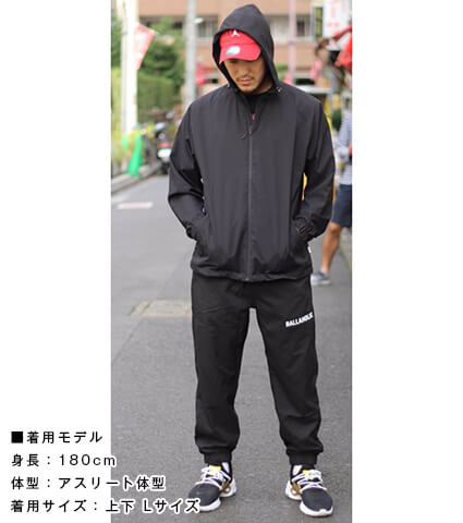 Ballaholic BLHLC Anywhere Pants 黒