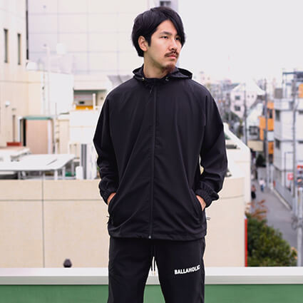 Ballaholic BLHLC Anywhere Full Zip Jacket 黒