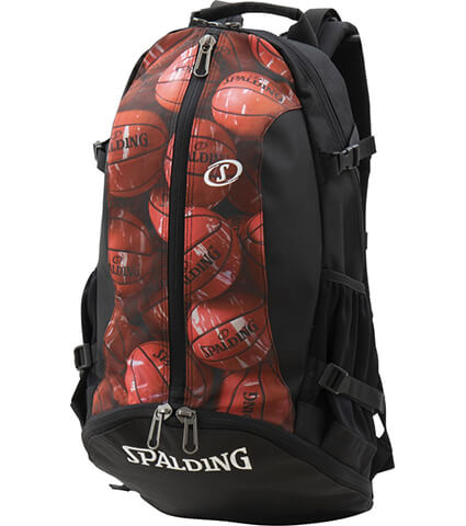 SPALDING Cager Bag マーブル レッド