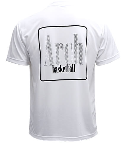 Arch Square Logo Tee 白